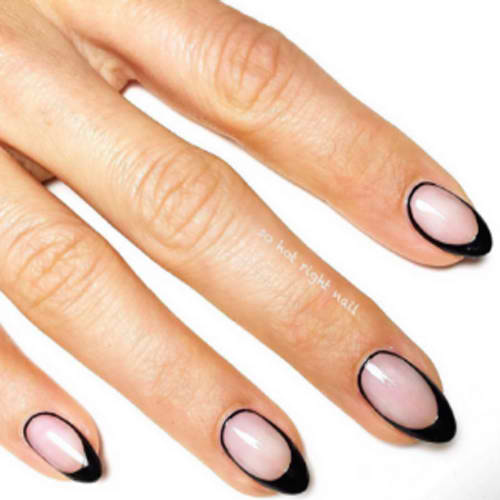 uniquely designed French tip